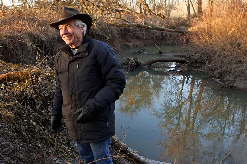 by: TIMES FILE PHOTO - Eric Lindstrom's photography centers on the before and after of Fanno Creek restoration. His work is on display at the Washington County Museum.