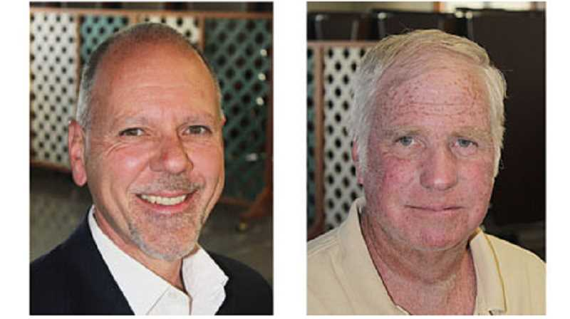 by: HOLLY M. GILL - Rep. John Huffman, left, and Britt Storkson are seeking the office of representative for District 59.