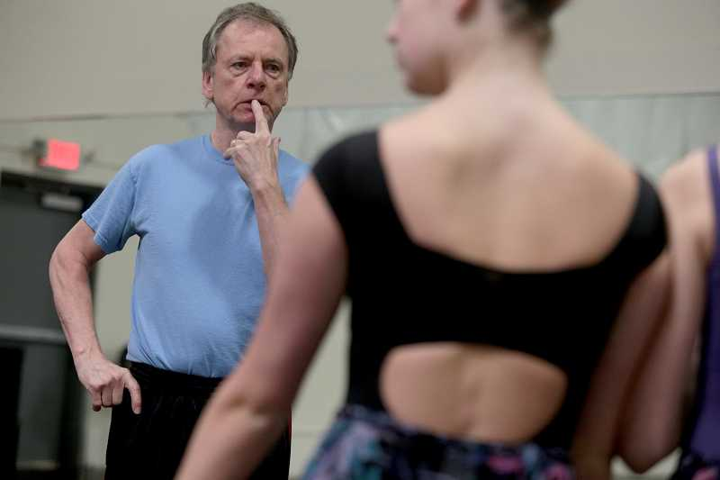 by: TIMES PHOTO: JONATHAN HOUSE - South African John Magnus is the artistic director of Portland Festival Ballet's production of 'Alice in Wonderland.'