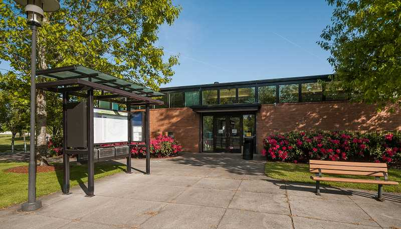 by: SPOKESMAN PHOTO: JOSH KULLA - One of the first things covered by the 2014-15 city budget approved last week by the Wilsonville Budget Committee is the transition of the former visitor center into the citys new parks and recreation building, shown here.