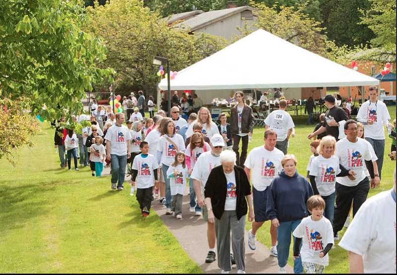 by: SUBMITTED PHOTO - Park Academy's annual Walk in the Park is this weekend.