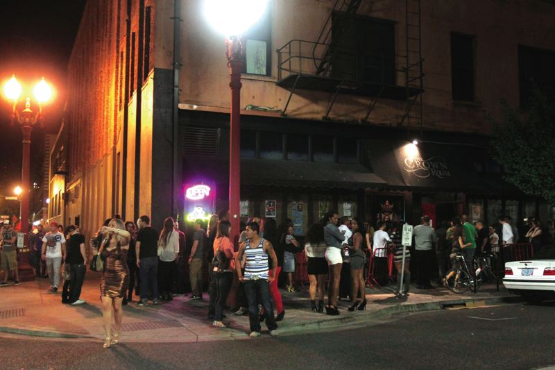 Pamplin media group old town vegan strip club may skirt rules by tribune file photo jonathan house crowds gather around the former crown room after midnight two years ago when the old town nightclub was operating aloadofball Images