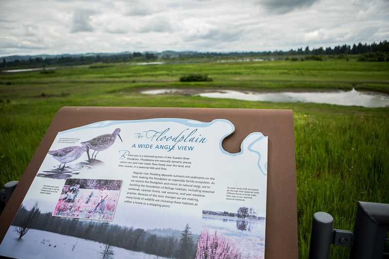 by: TIMES PHOTO: DAVID BLAIR - Birds and other wildlife can oftern be spotted at the Tualatin River National Wildlife Refuge in Sherwood.