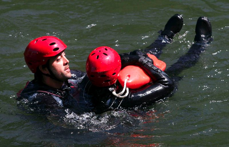 by: OUTLOOK FILE PHOTO: JIM CLARK - American Medical Responses River Rescue lifeguards will return to Glenn Otto Park in Troutdale for the summer, beginning today.