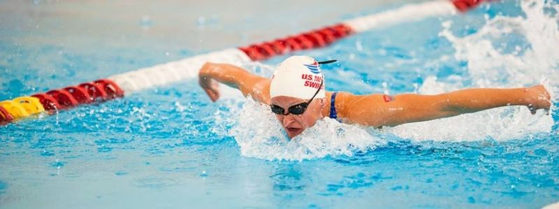by: SUBMITTED - Milwaukie 37-year-old Sonja Skinner excelled at the recent United States Masters Swimming Spring Nationals, placing top 10 in eight events and winning a national title.