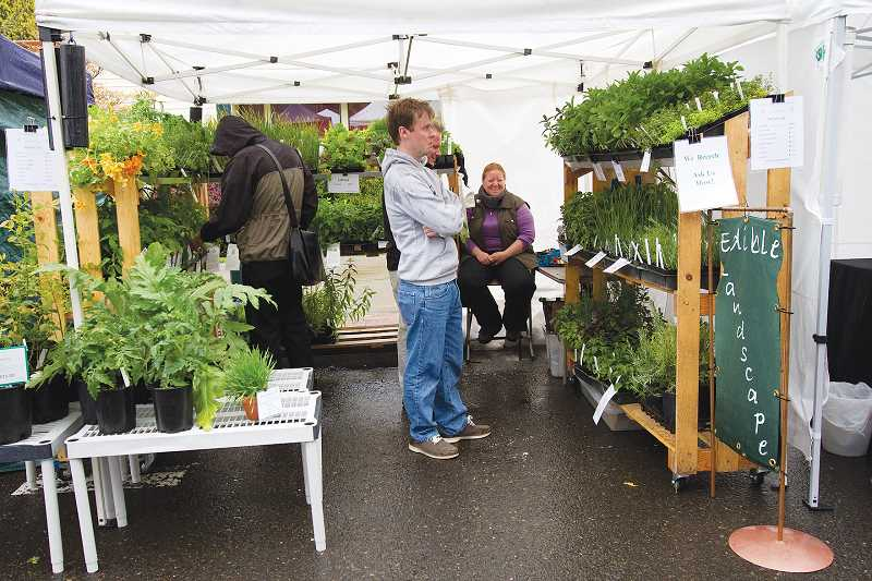 by: NEWS-TIMES FILE PHOTO - The farmers market will complement First Wednesday today in downtown Forest Grove.