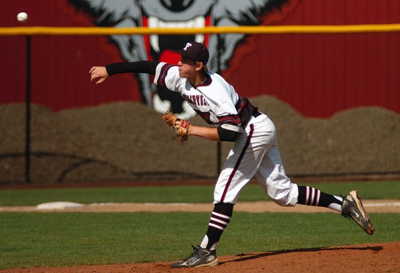 by: DAN BROOD - WINNING PITCHER -- Tualatin junior Jacob Bennett shut out David Douglas on two hits while striking out 13 and walking just one.