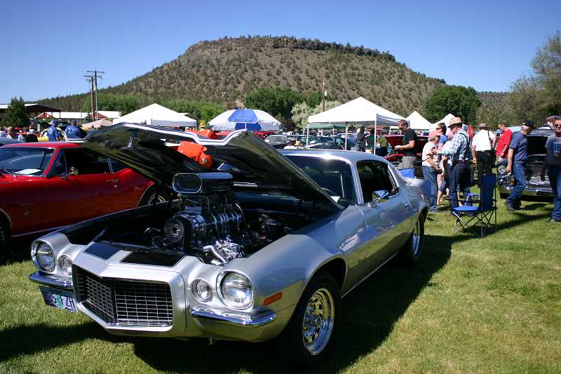 by: CENTRAL OREGONIAN - he Cruise to the Center of Oregon car show not only features a variety of polished, classic vehicles from 1987 and earlier, it is intended to be an event that attracts the entire family and helps the Crook County Rodders raise money for local charities.