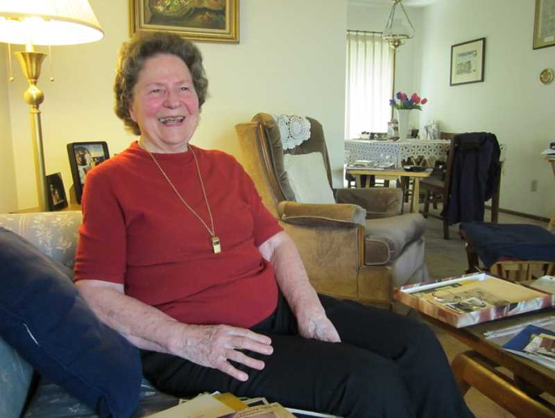 by: BARBARA SHERMAN - HOME SWEET HOME - Billie Reynolds uses her King City home as the base of operations for all of her activities and pursuits that keep her busy at 85.