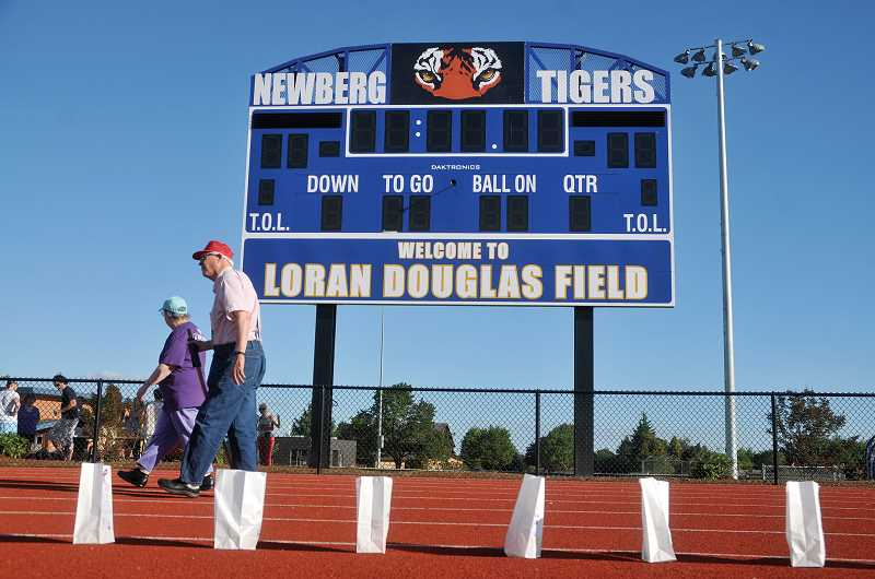 by: GARY ALLEN - Nice surroundings - Recent improvements to Loran Douglas Field make for a pleasant venue for the 2014 Relay for Life.