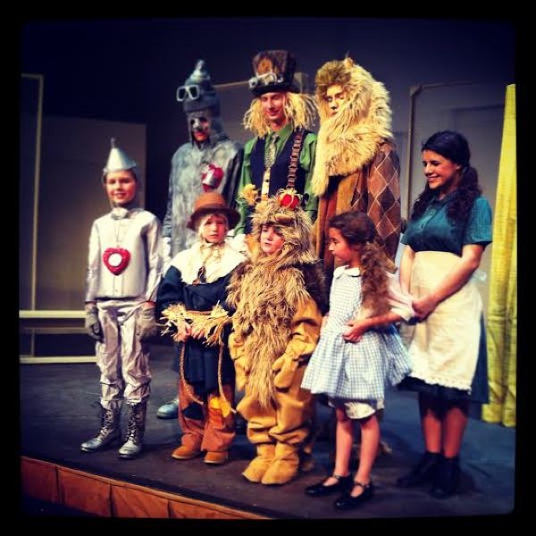 by: OUTLOOK PHOTO: LISA K. ANDERSON - The play features 50 young actors, ages 5-19. Back left to right are Brooke McDonald, Jacob Wolff, Tim Clark and Erin Duhon. Bottom left to right are Daniel Johnson, Ethan Thompson, Alex Hugo and Ania Vilius.