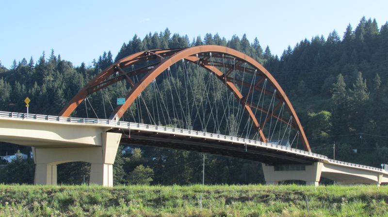 by: MARK MILLER - The Sauvie Island Bridge, which links Sauvie Island with Highway 30 across the Multnomah Channel. The bridge has been used as a symbol of a Multnomah County project to update the Rural Area Plan for its portions of Sauvie Island and the Multnomah Channel.