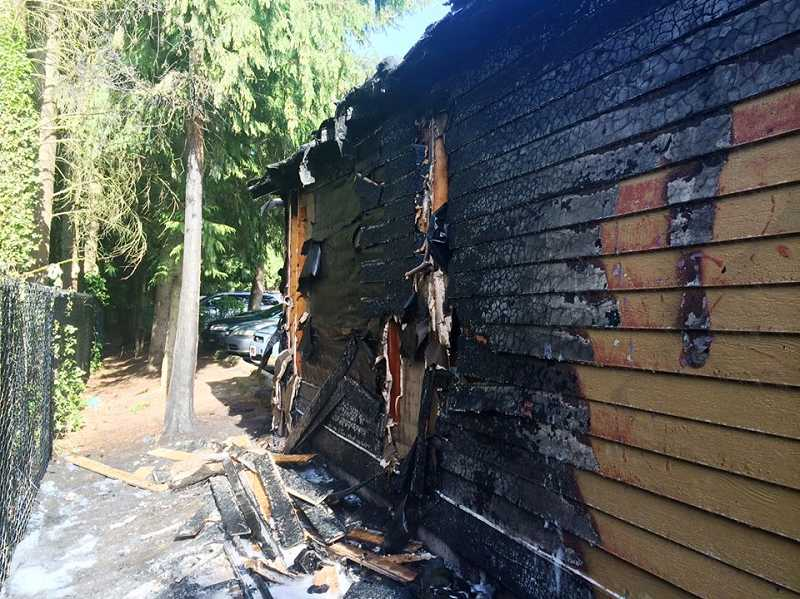 Tualatin Valley Fire & Rescue crews say they aren't sure what caused the fire at an apartment complex in Tigard on Thursday, June 5.