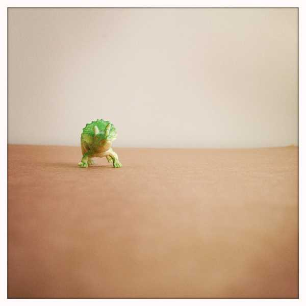 by: SUBMITTED PHOTO - This miniature, Dino-Mite by Melissa Lund, is part of the Tiny Vision exhibit at the Festival of the Arts.