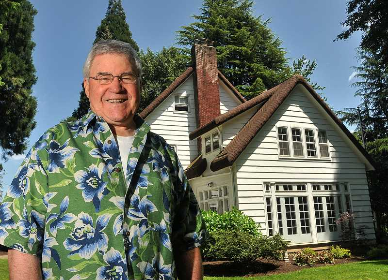 by: TIDINGS PHOTO: VERN UYETAKE - Mike Watters has loved the McLean House and Park since he first laid eyes on it in 1991, but he says he's ready to move on from his role as president.