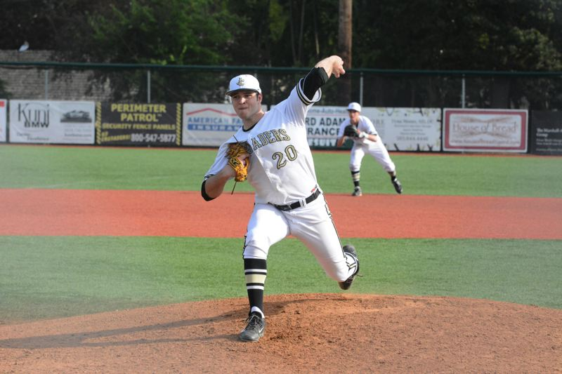 by: TIMES FILE PHOTO - Jesuit's Christian Martinek was one of the four pitchers selected to the all-Metro first-team.