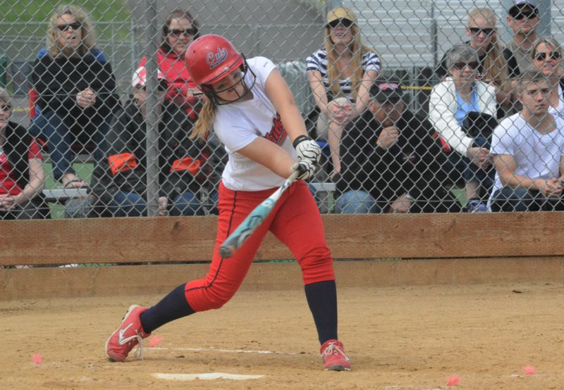 by: TIMES FILE PHOTO - Westview designated hitter Natalie Munson adjusted quickly to the high school level as a freshman and became a dangerous hitter at the plate.