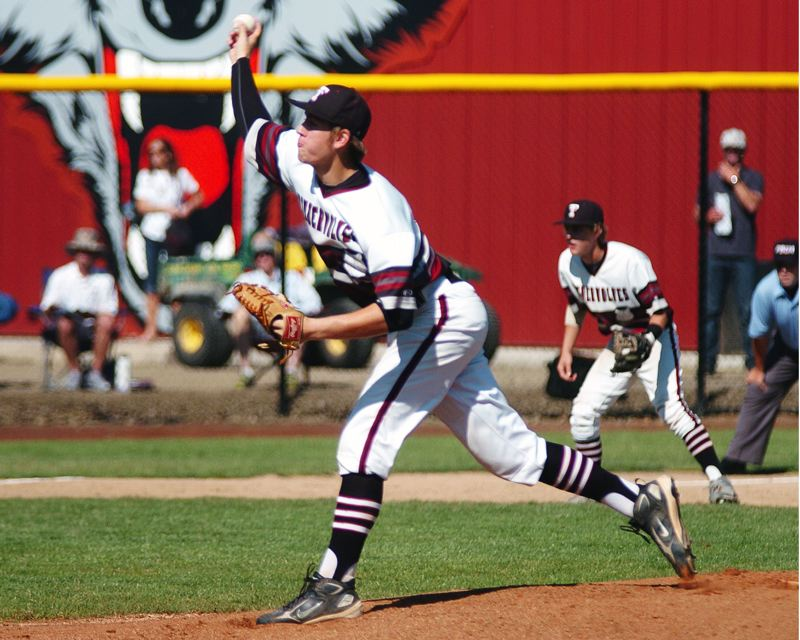 by: DAN BROOD - TOP PITCHER -- Tualatin junior Jacob Bennett was named the Pacific Conference Pitcher of the Year.
