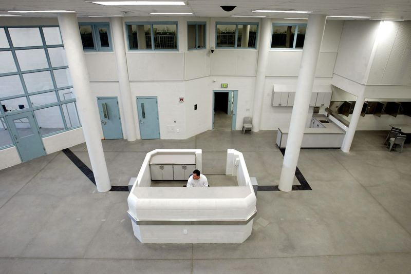 by: TRIBUNE FILE PHOTO - The unused $58.4 million Wapato Jail could be used for film and TV production, or it could be used as holding cells for world leaders arrested by a shadowy 'justice agency,' according to seven proposals received by Multnomah County for the facility. The county will look at the proposals and decide the 155,000-square-foot facility's fate.