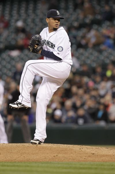 by: COURTESY OF SEATTLE MARINERS - Seattle Mariners ace Felix Hernandez is having another stellar season, going 8-2 with a 2.29 ERA in 15 starts through last week.