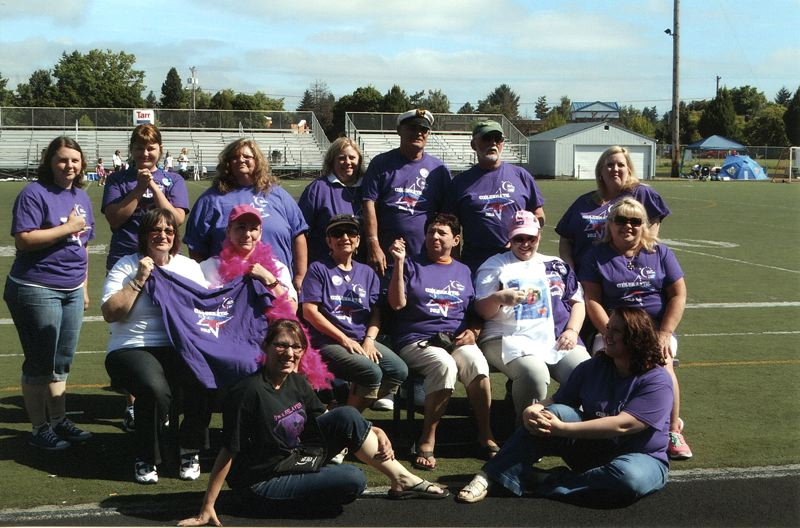 by: CONTRIBUTED PHOTO - Participants in Relay for Life events raised nearly $5 million in 2012 nationwide, which helped with funding for research and patient services at Oregon Health & Science University and Providence Portland.