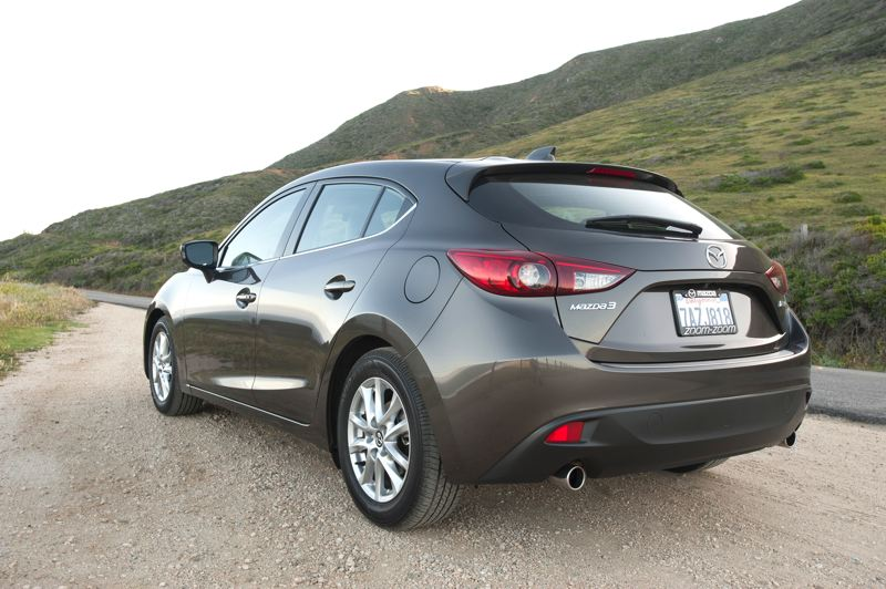 by: JOHN M. VINCENT - Mazda offers 2 body styles for the Mazda3 - a 4-door sedan and a versatile 5-door hatchback.