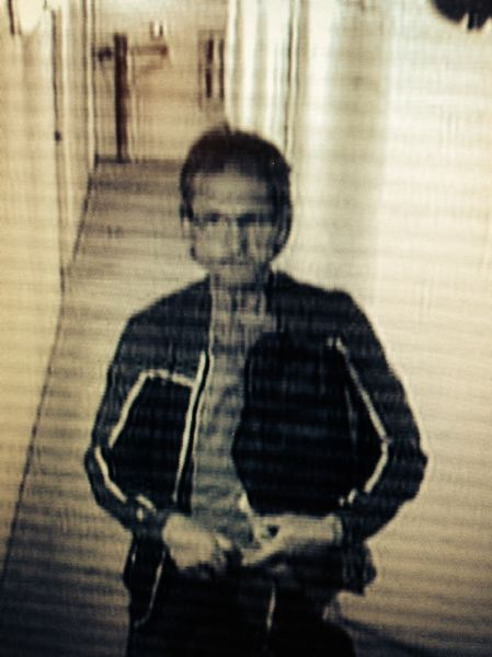 by: PORTLAND POLICE BUREAU - Surveillance photo of suspected locker room thief.