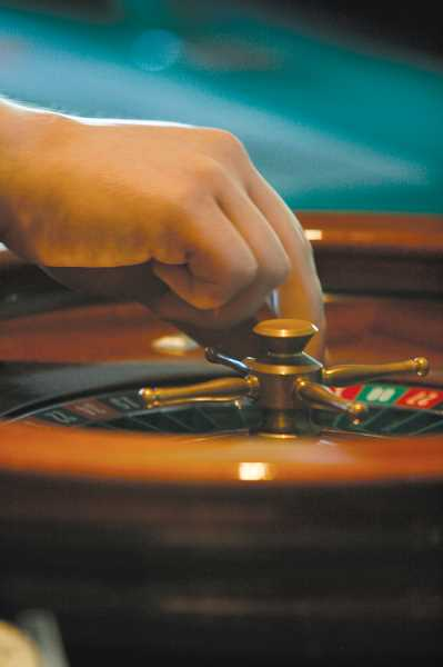 by: PHIL HAWKINS - Table games like roulette allow for the gamblers at heart to test their luck at the fourth annual Gervais Casino Night.