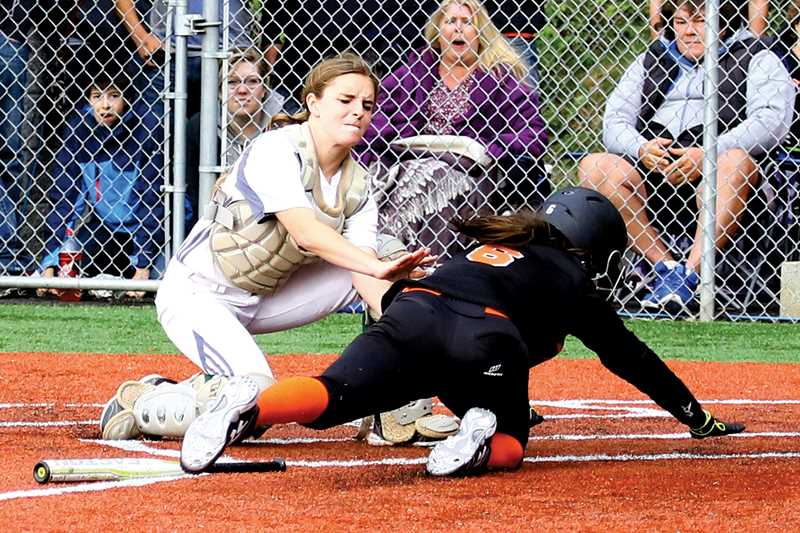 by: JO WHEAT - After earning 4A First Team All-State honors, junior catcher Brandi Bowling could be a threat to win the honor in 2015.
