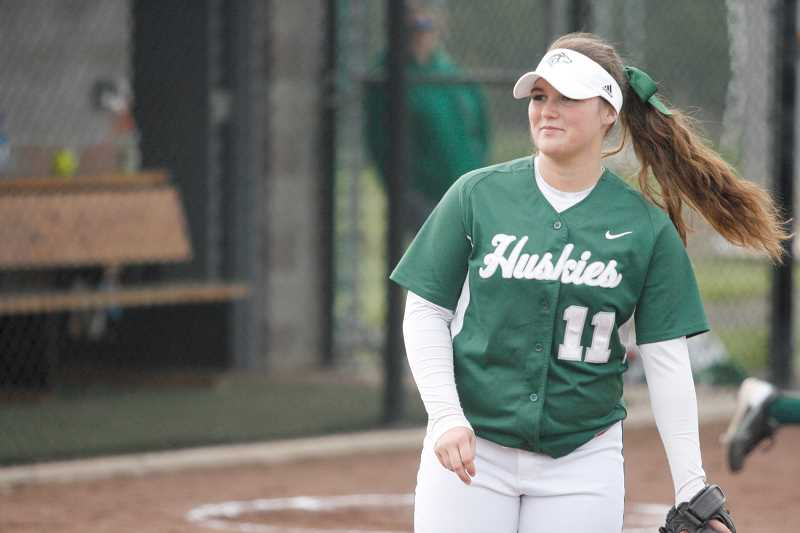 by: PHIL HAWKINS - North Marion's All-State trio of Kylie Gonzales, above, Michaela Meeuwsen and Brandi Bowling helped lead the team to a second straight state playoff appearance this season.