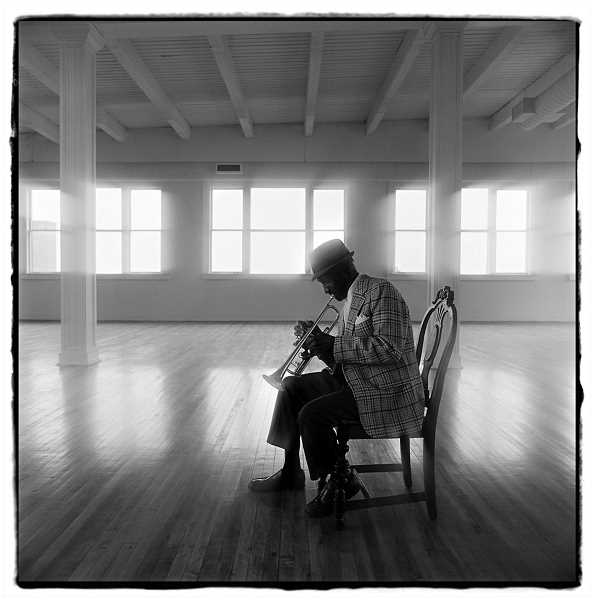 by: COURTESY PHOTO - Dan White, a Pulitzer Prize-winning photographer, photographed many jazz artists, including Elmer Price.