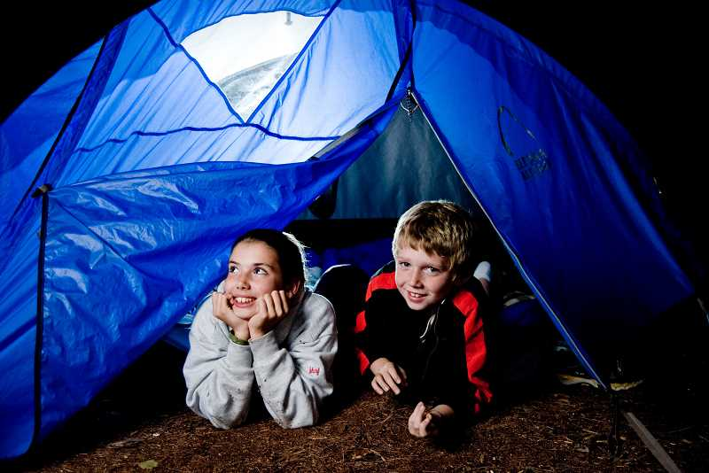 by: SUBMITTED PHOTO: NATIONAL WILDLIFE FEDERATION - The National Wildlife Federation encourages families to participate in the Great American Backyard Campout June 28 as a simple way to reconnect with nature.
