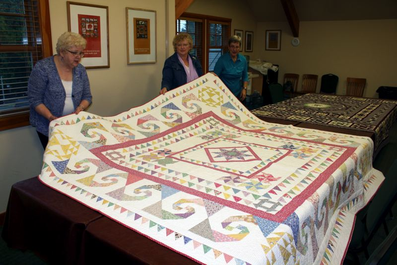 by: POST PHOTO: KYLIE WRAY - Another Lippincott Gallagher quilt will be featured during the shows quilt turning.