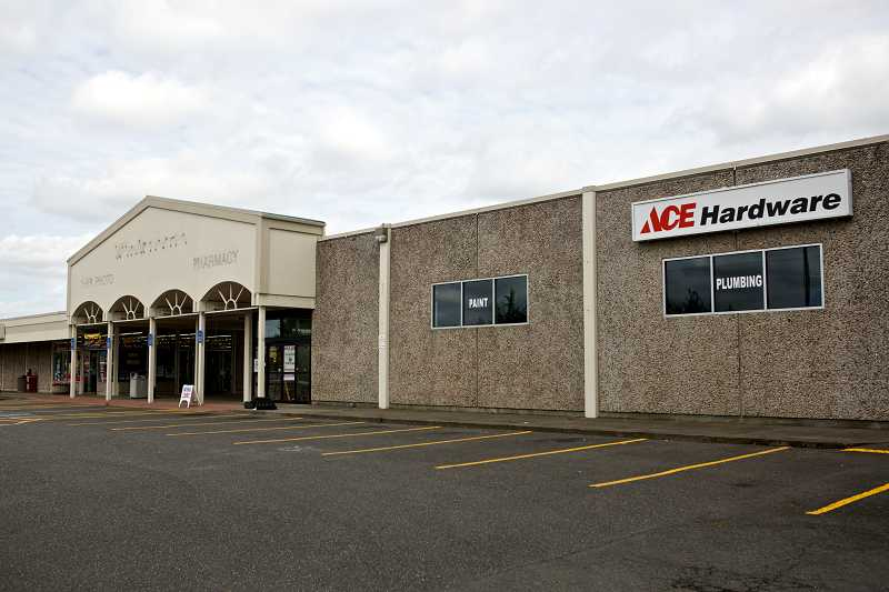 by: TIMES PHOTO: JAIME VALDEZ - The Ace Hardware store in the Milltowner Shopping Center at Northwest Cornell and Saltzman roads closed at the end of May. Property owner Bales Findley LLC plans to announce an anchor tenant for a completely rebuilt plaza there sometime in 2015.