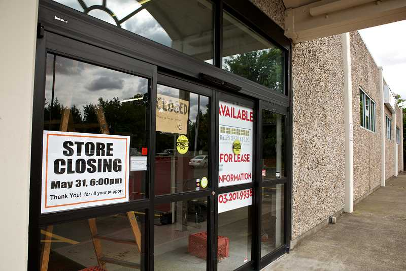 by: TIMES PHOTO: JAIME VALDEZ - The Ace Hardware store in the Milltowner Shopping Center at Northwest Cornell and Saltzman roads closed at the end of May.