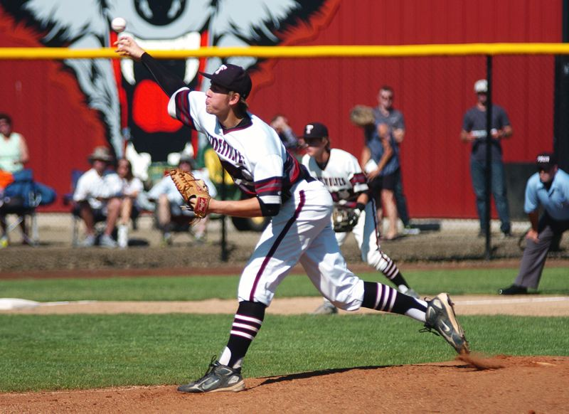 by: DAN BROOD - SIMPLY THE BEST -- Tualatin High School junior Jacob Bennett was named the Class 6A Pitcher of the Year.