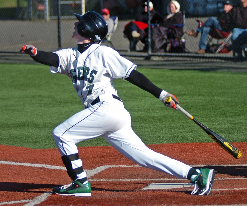 by: DAN BROOD - BRUIN BASH -- Tigard senior Bruin Campbell was a first-team all-state pick as an infielder.