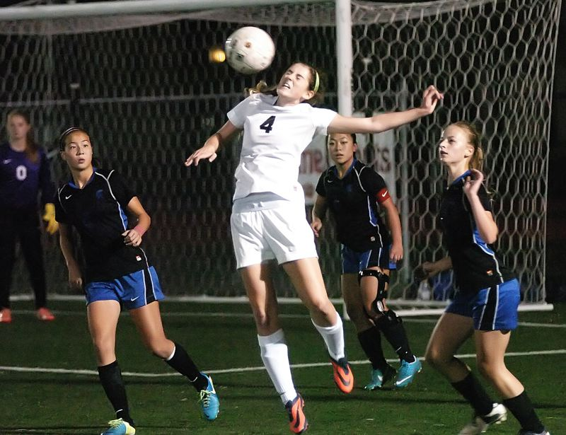 by: DAN BROOD - SOCCER STAR -- Emilee Cincotta earned first-team all-state honors as she helped lead the Tigers to the Pacific Conference championship.