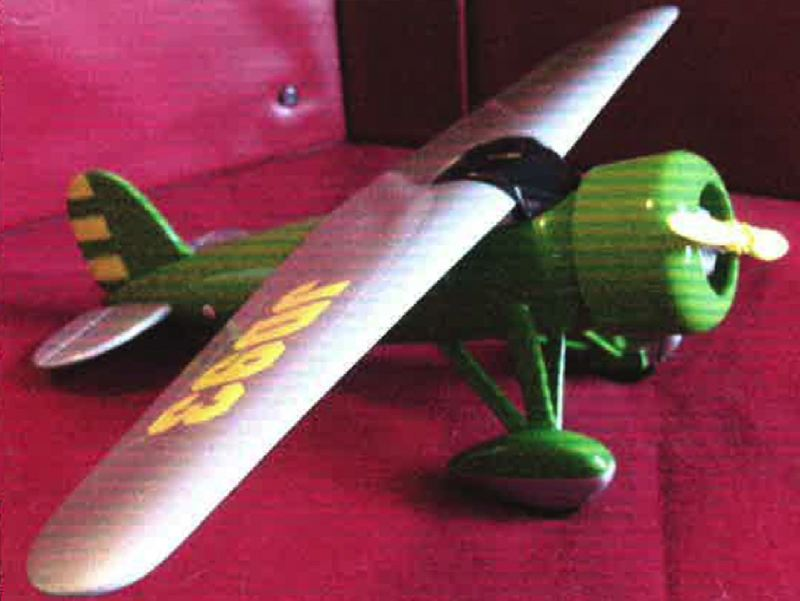 by: WASHINGTON COUNTY SHERIFF'S OFFICE - A vintage John Deere metal airplane bank, a model of a1927 Lockheed Vega 5B, is among recovered stolen items the Washington County Sheriff's Office is trying to reunite with their owners after an April investigation into a burglary ring.