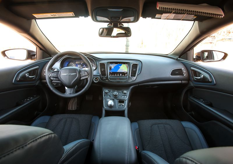 by: JOHN M. VINCENT - The interior of the 2015 Chrysler 200 is a vast improvement over last year's model.