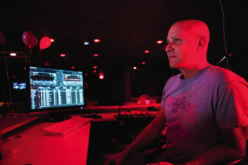 by: TIMES PHOTO: JAIME VALDEZ - Bobby Deshotel who has been a disc jockey at Jiggles for a couple of decades isnt worried about finding work after the adult entertainment business closes in Tualatin.