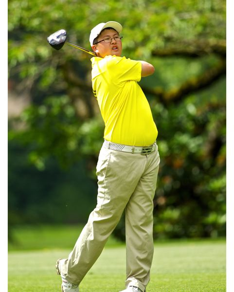 by: COURTESY OREGON GOLF ASSOCIATION - STATE RUNNER-UP SAMUEL PYON