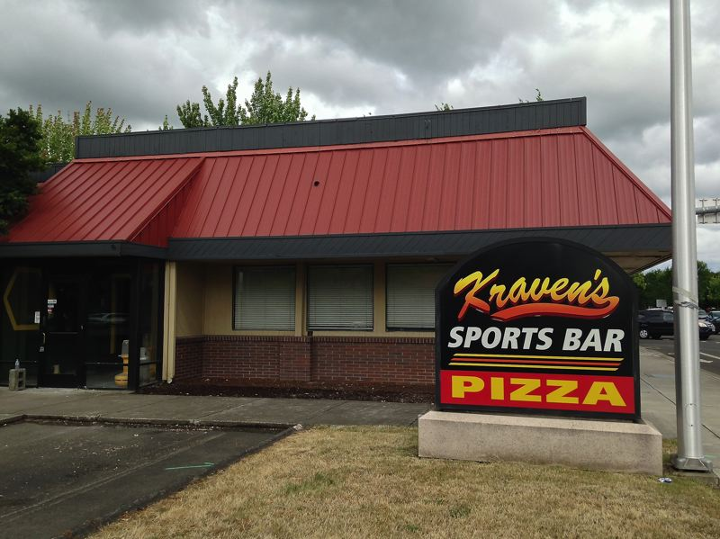 by: SPOKESMAN PHOTO: JOSH KULLA - The former Kravens Sports Bar at the corner of Wilsonville Road and Town Center Loop West has been the subject of rumors for close to two years now. But recent activity suggests the site may soon be the new home of a pair of fast food restaurants.