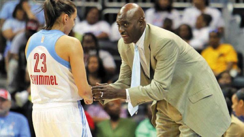 by: COURTESY OF ATLANTA DREAM - WNBA Atlanta Dream coach Michael Cooper, a former Los Angeles Lakers mainstay, says rookie guard Shoni Schimmel has star quality that he wants to develop, partly by teaching her to cope with the highs and lows of professional basketball.