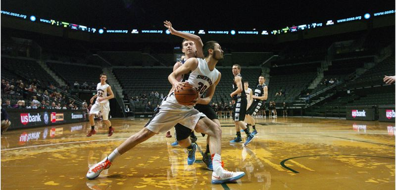 by: DAN BROOD - SUPER SENIOR -- Jordan Kurahara was a key player for the Sherwood football and boys basketball teams during the 2013-14 school year.