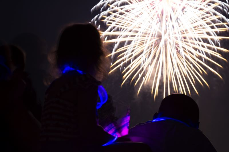 by: LACEY JACOBY - About 300 rounds of fireworks are fired each year at the Old Fasioned celebration. Each is launched by hand from Cook Park.