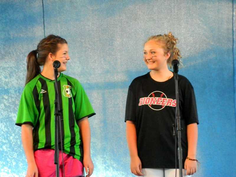by: SUBMITTED PHOTO - Auditions for the Clackamas County Fair talent show and gospel singing performance will be held July 19 and 23.