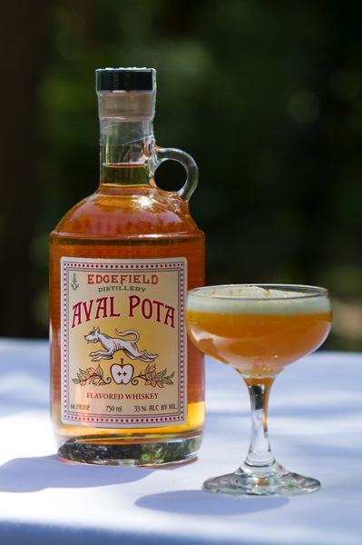 by: COURTESY OF MCMENAMINS - McMenamins launches this month its new apple-flavored whiskey, Aval Pota.