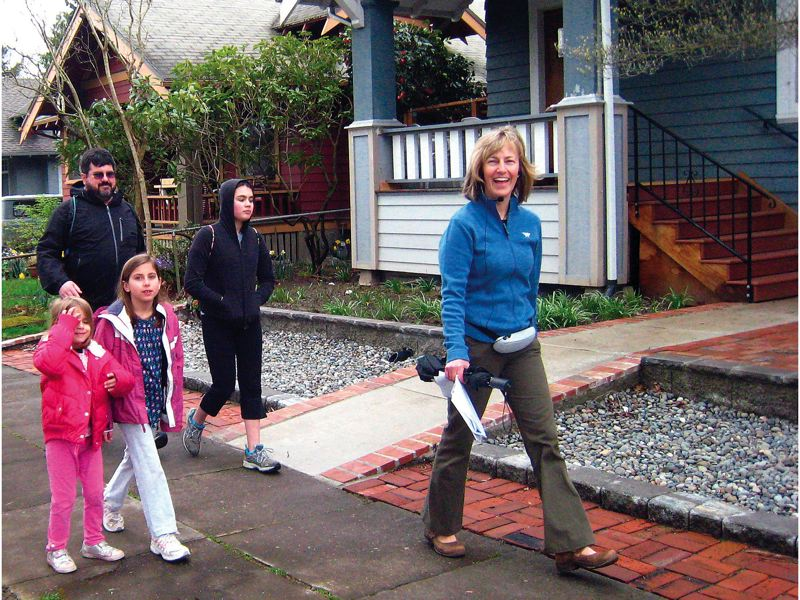 by: CONTRIBUTED PHOTO: LINDA STARR - Laura O. Foster leads occasional walking tours of the Portland area. The author of five guidebooks for urban explorers lists stairways as among her favorite sites.