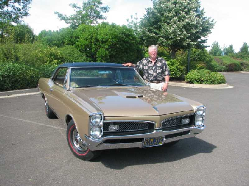 by: COURTESY JOHN AND BEVERLY NOBEL - Joe Nobel and his wife Beverly will bring their restored, award-winning 1967 Pontiac GTO to the Concours dElegance on July 20.